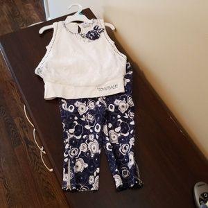 Matching NWOT shirt and pant set